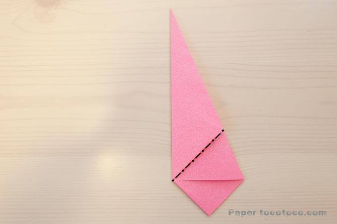 折り紙3D星2の折り方