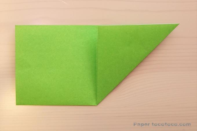 折り紙角香箱4の折り方