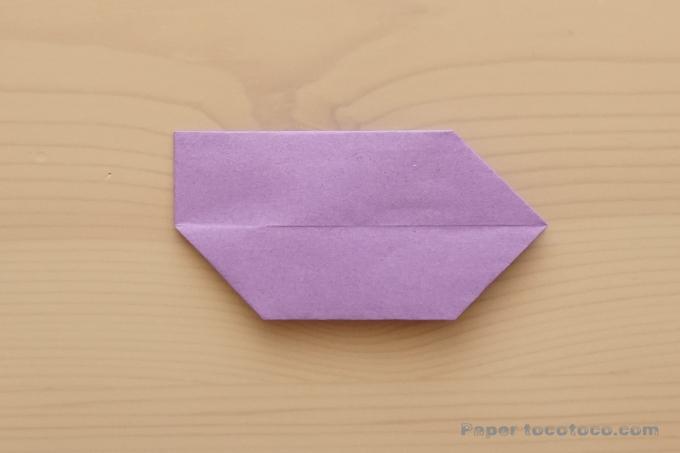折り紙リボン2の折り方