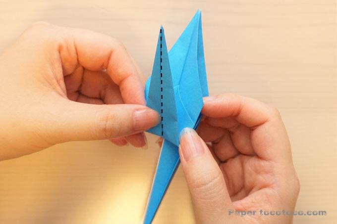 折り紙鶴の折り方