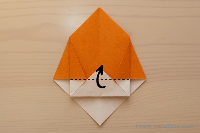 折り紙箱の折り方2
