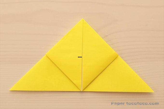 折り紙風船の作り方