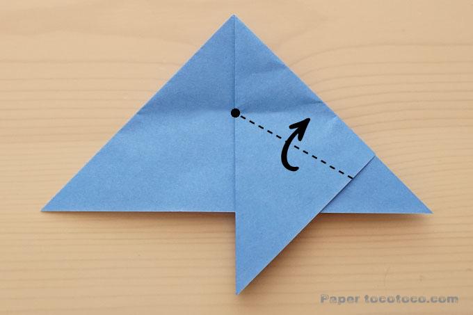 折り紙星の折り方3
