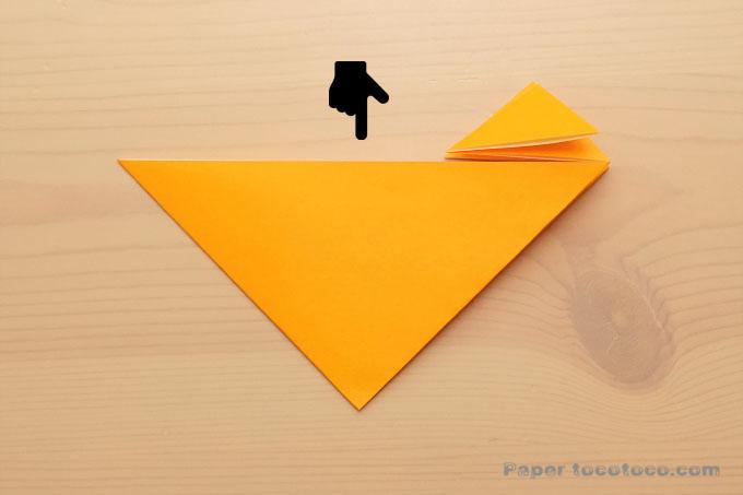 折り紙連鶴花見車の折り方