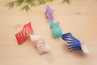 折り紙☆七夕飾り☆貝かざりの折り方☆簡単!おしゃれな立体巻貝
