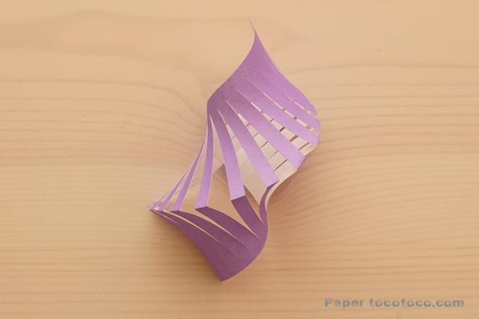 折り紙七夕貝かざりの折り方