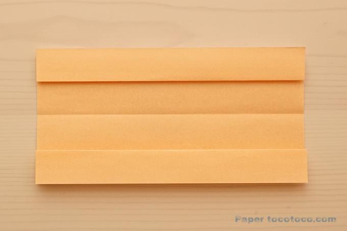 折り紙七夕扇つづりの折り方