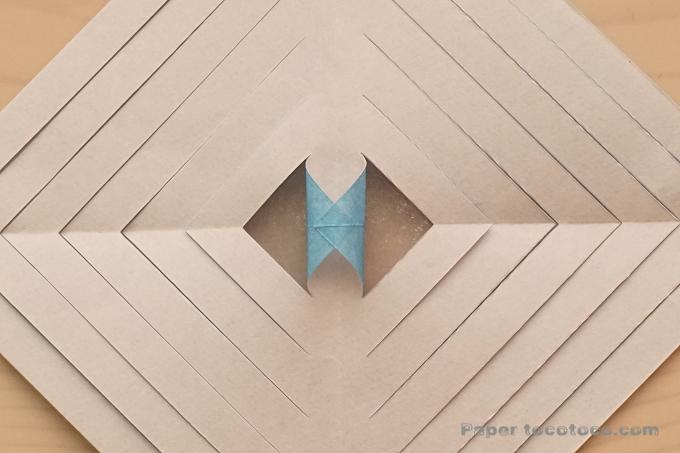 折り紙七夕オーナメント1の折り方
