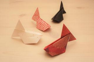 折り紙☆風船金魚の折り方☆簡単かわいい!膨らませるだけで立体的な金魚