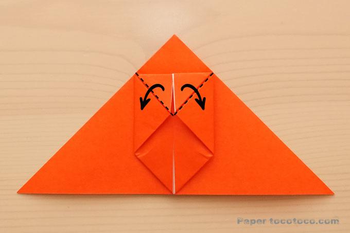 折り紙風船金魚の折り方