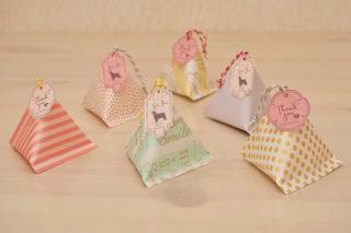 折り紙☆テトラパックの折り方☆簡単!おしゃれなラッピング三角パックを徹底解説!