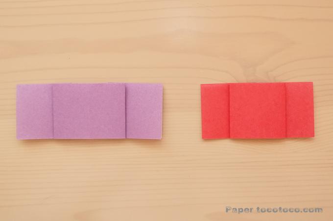 キャンディの折り方1