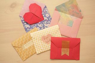 折り紙☆封筒の折り方☆簡単かわいい!シンプルな基本の封筒