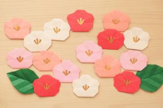 折り紙☆梅の花の折り方☆ひな祭りお正月のお飾りに!簡単可愛いウメの花